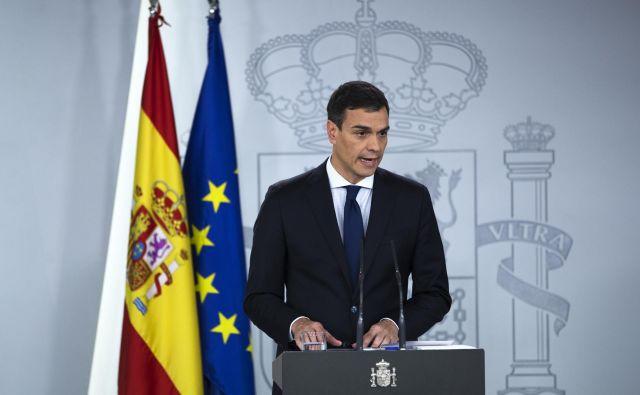 Novi španski premier Pedro Sánchez ima prožnejši pristop do Katalonije od predhodnika Rajoya. FOTO: AP