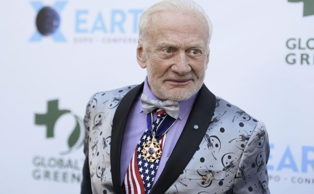 Buzz Aldrin FOTO: Richard Shotwell/AP