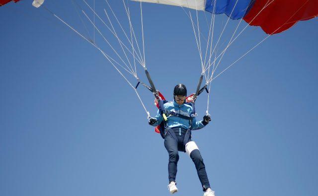 Maja Sajovic je bila v Lescah druga med dekleti in tretja ekipno z Elanom. Foto Blaž Samec/Delo