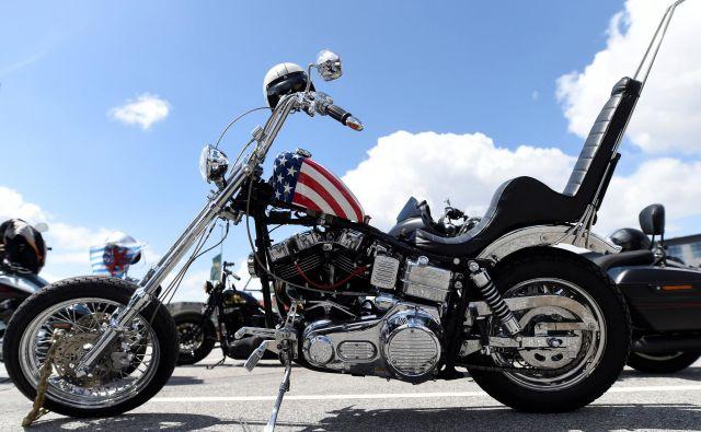 Harley-Davidson so tudi v Evropi zelo popularni. FOTO: Fabian Bimmer / Reuters