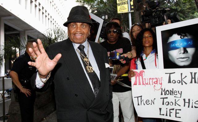 Joe Jackson je bil tudi redni gost sodišč, na fotografiji je na kalifornijskem leta 2011. FOTO: Mario Anzuoni/REUTERS