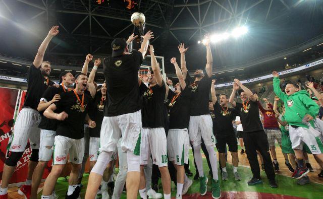 Petrol Olimpija tudi v prihodnji sezoni, pod okriljem Mrtića, v ligi prvakov. Foto Mavric Pivk/Delo