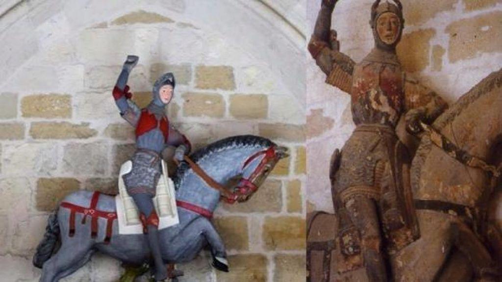 Grozljiva prenova zgodovinske skulpture