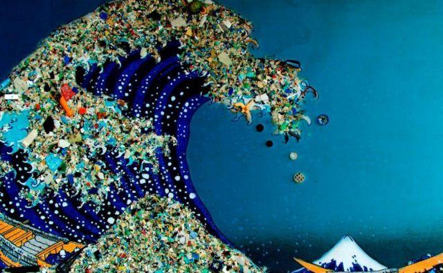 Oceani in vode so polni mikroskopskih delcev plastike. Foto Kasia Jerrelle