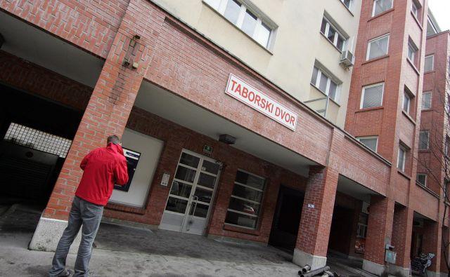 Stanovanja poslancev na Kotnikovi ulici v Ljubljani FOTO: Mavric Pivk/Delo