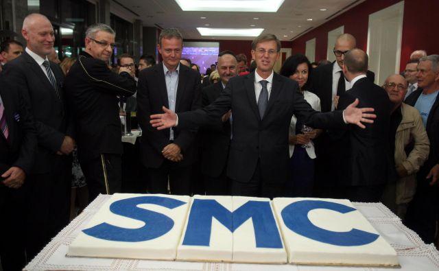 Po letošnjih volitvah je kolač veliko skromnejši od tistega leta 2014, razdeljen pa še ni dokončno. FOTO: Blaž Samec/STA