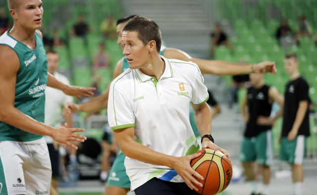 Jaka Lakovič je še vedno dragocen za košarkarsko reprezentanco.<br /> FOTO: Uroš Hočevar/Delo