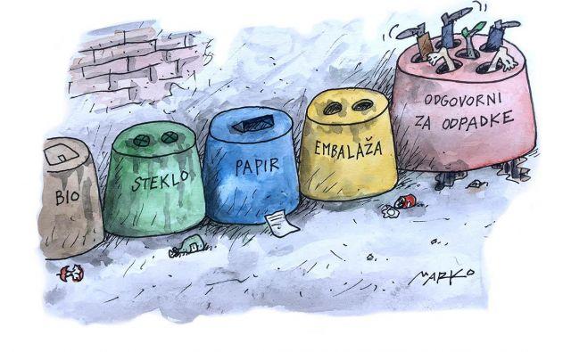 Odpadki Foto Marko Kočevar