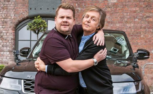 Paul McCartney in James Corden