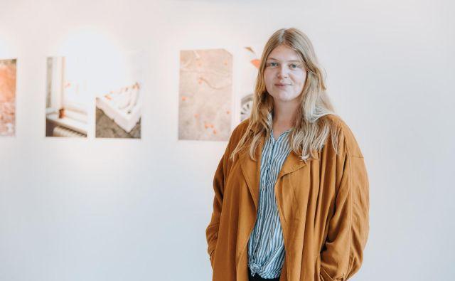 Dela berlinske fotografinje Ine Niehoff bodo v Likovnem salonu na ogled do 31. avgusta. FOTO: Matic Gabriel
