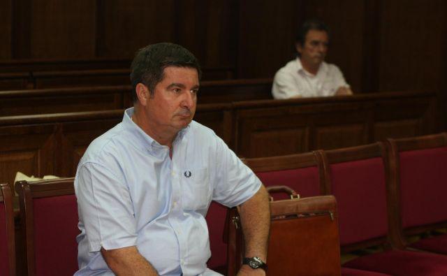 Robert Časar na sodni obravnavi. FOTO: Šuligoj Boris/Delo