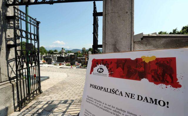 Pokopališče in cerkev Šentvid pri Ljubljani FOTO: Igor Mali