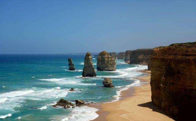 Dvanajst apostolov ob veliki oceanski cesti na jugovzhodu Avstralije. Je treba še kaj dodati? FOTO: Osebni arhiv
