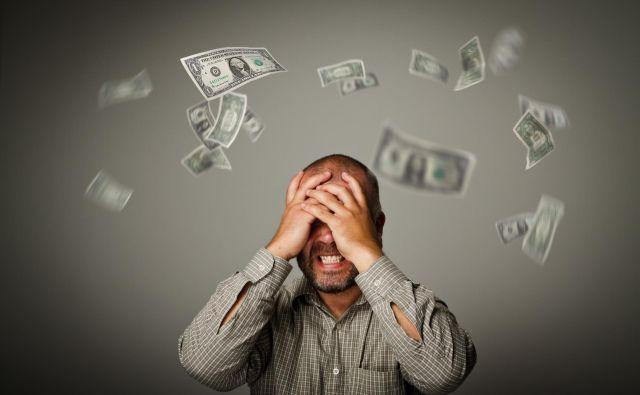 Večina loterijskih milijonarjev ima po petih letih manj kot pred zadetkom in pred smrtjo bankrotira. FOTO: Shutterstock