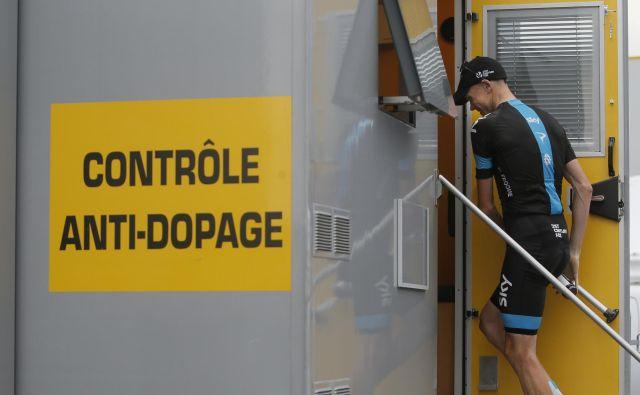 Ali bo Froome lahko nastopil na letošnjem Touru, še ni znano. FOTO: Laurent Rebours/Ap