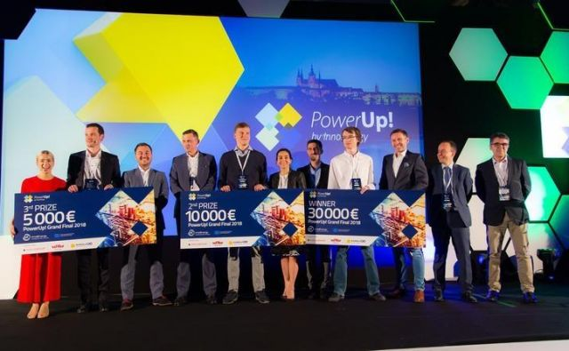 Startup tekmovanje PowerUp! Foto Arhiv Dogodka