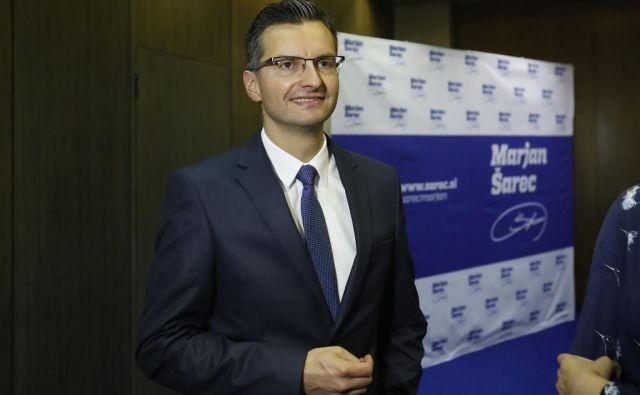 predsednik LMŠ Marjan Šarec FOTO: Leon Vidic/Delo