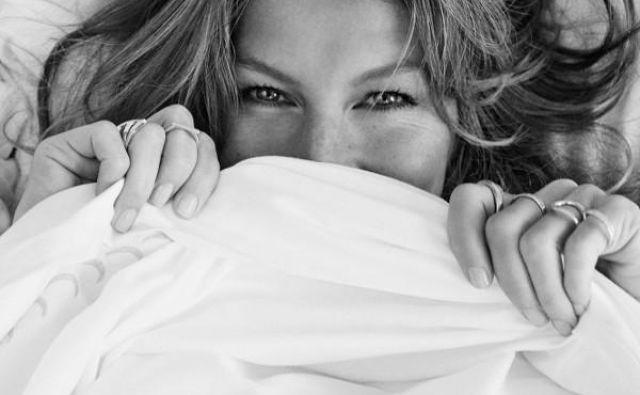 Gisele Bündchen, Vogue Brasil, december 2013. FOTO: Giampaolo Sgura