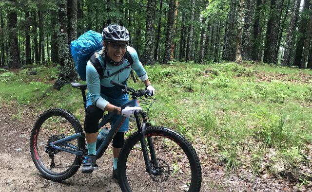 Ilka Štuhec se je s Pohorja premaknila v Dalmacijo, kjer nadaljuje najdaljši kondicijski sklop poletnih priprav. Foto A. Š.