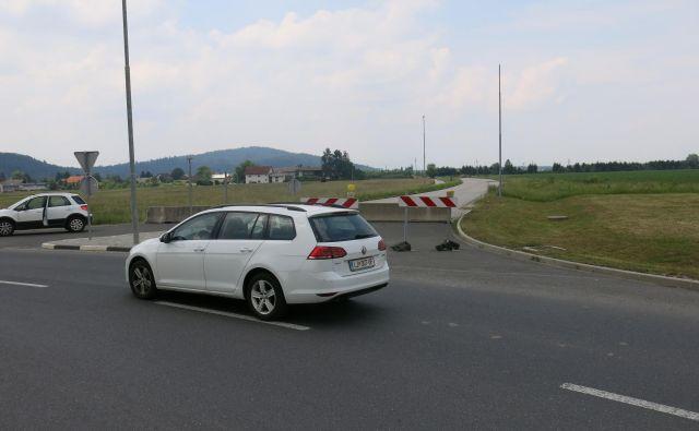 Nedokončani odsek obvoznice Mengeš.<br /> Foto Janez Petkovšek