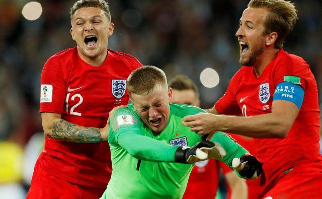 Angliji se je v lažjem delu žreba odprla pot do finala, toda tudi Hrvaški, Rusiji in Švedski. FOTO: Reuters