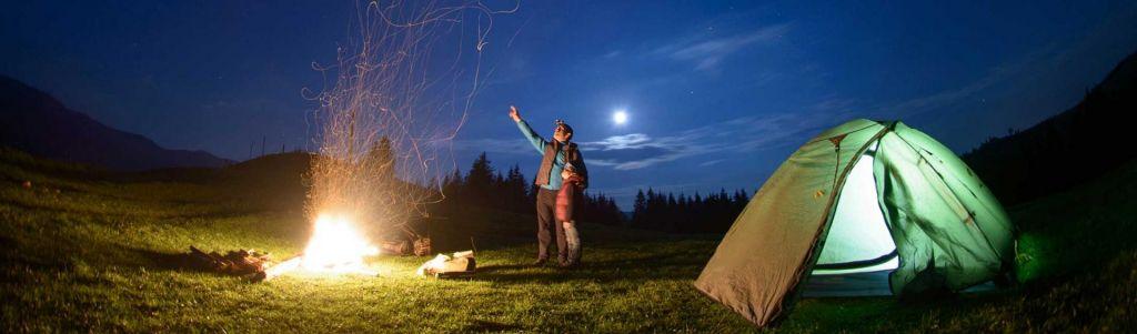 FOTO:Kaj potrebujete za kampiranje s petimi zvezdicami?