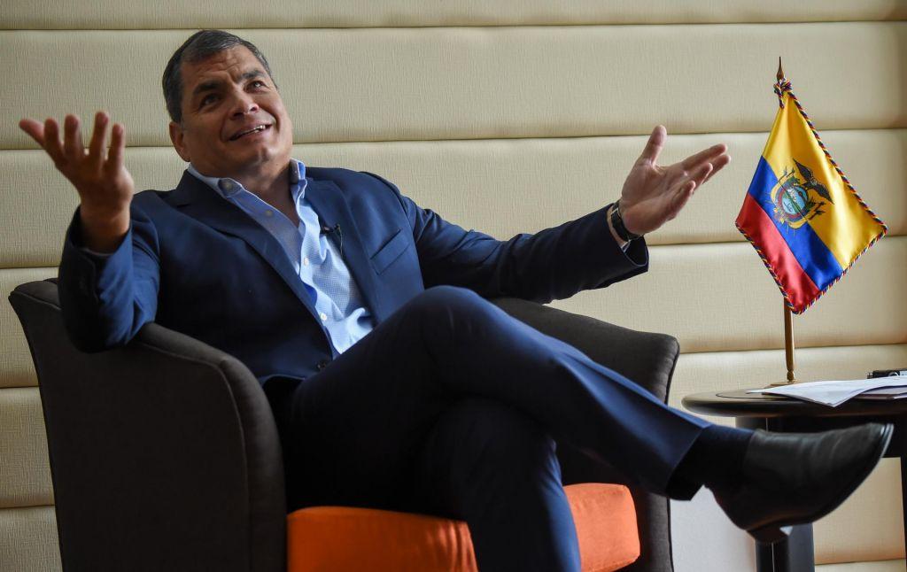 Pripor za nekdanjega ekvadorskega predsednika