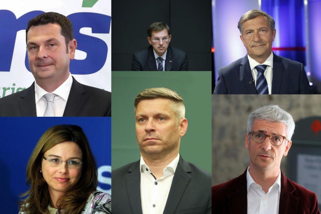 FOTO:Kdo so glavni pogajalci pri sestavljanju koalicije