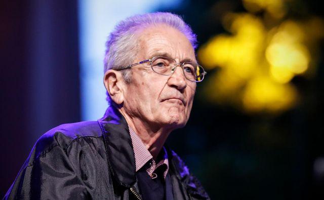 Za svoja dela je Lipuš prejel več nagrad, med njimi Prešernovo nagrado za opus leta 2004 in nagrado Petrarca leta 2011. FOTO: Uroš Hočevar
