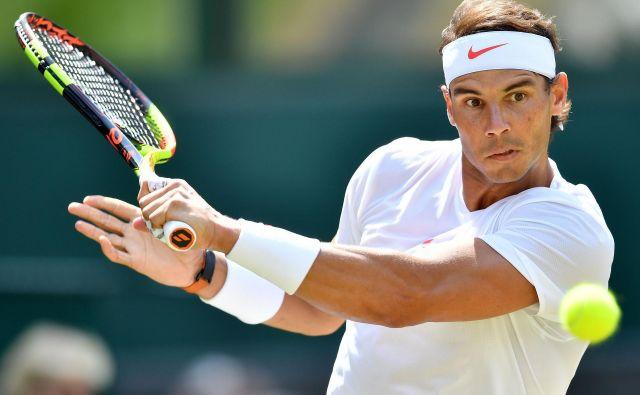 Rafael Nadal ne pozna milosti. Foto Ben Stansall/AFP