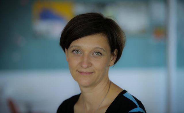 Špela Čadež režiserka in avtorica nagrajenih animiranih filmov.<br /> FOTO: Jože Suhadolnik