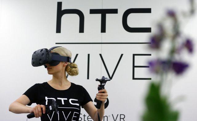 HTC velja za enega največjih tehnoloških podjetij na področju navidezne resničnosti. FOTO: Reuters