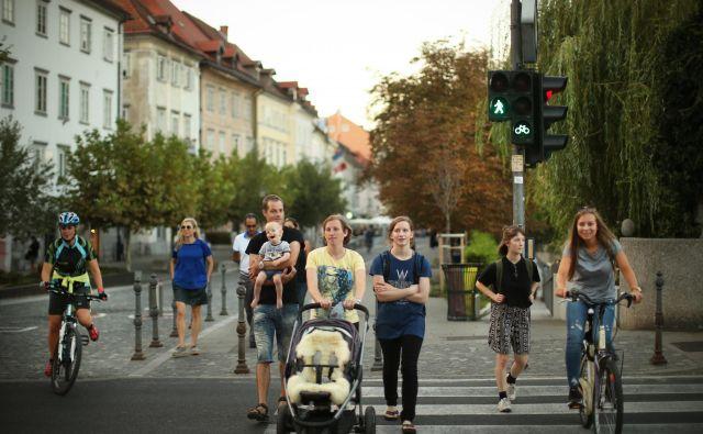 Ljubljančani spadajo med najbolj zadovoljne prebivalce Slovenije. FOTO Jure Eržen