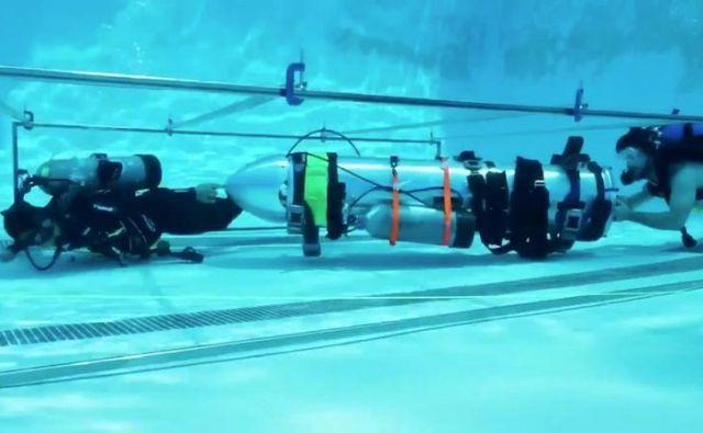 Podmornice za otroke Foto Elon Musk