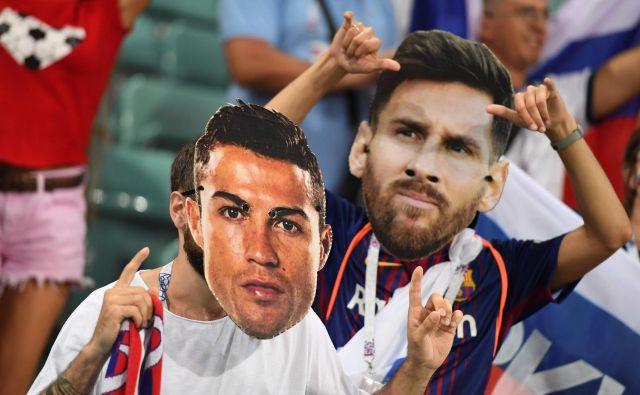 Messi je zabil manj golov kot Koren, Birsa in Ljubijankić in zbral toliko podaj kot Radosavljević.Foto Kiril Kudrjavcev/AFP