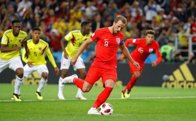 Harry Kane je polovico od šestih golov dosegel z bele točke.