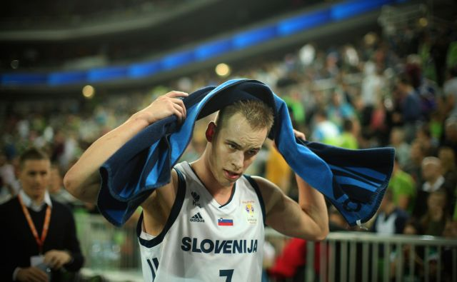 Tudi v prihodnji sezoni bo imel Real v svojih vrstah Slovenca. Foto Jure Eržen/Delo