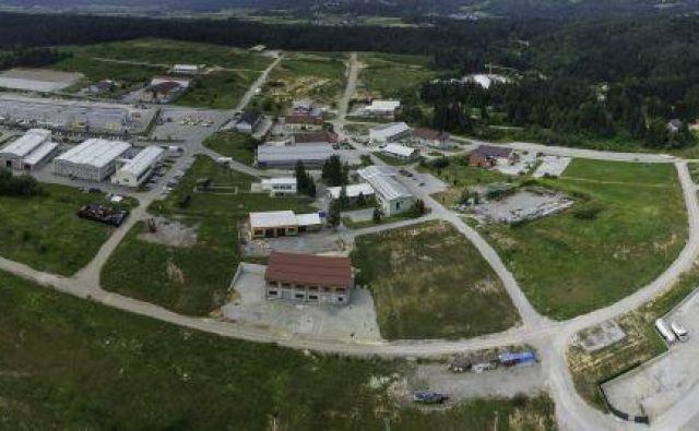 V Tehnološko razvojno industrijskem središču (Tris) na območju nekdanjega rudnika Kanižarica deluje 42 podjetij s 500 zaposlenimi.<br /> Foto Arhiv Delo