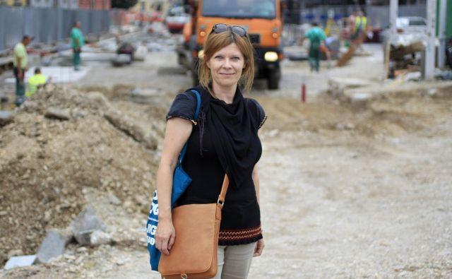 Laura Orel: Živeti v prijaznem okolju je mogoče samo v družbi, v kateri se nikogar ne zanemari.FOTO: Roman Šipić