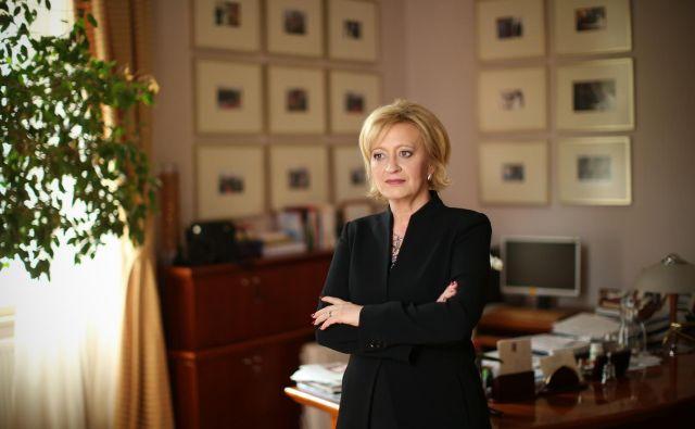 Ksenija Benedetti, šefinja državnega protokola, odhaja s funkcije 1. oktobra. FOTO: Jure Eržen/delo