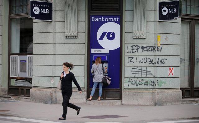 V letošnjem prvem polletju je NLB ustvarila vsaj sto milijonov evrov čistega dobička. Foto Jo�že Suhadolnik