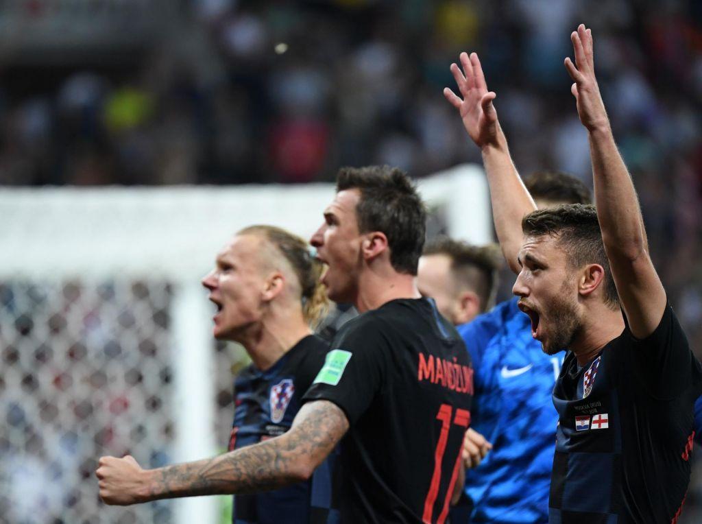 FOTO:Hrvaška v deliriju, Mandžukić za zasuk in finale (VIDEO)