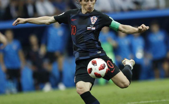 Luka Modrić je gonilna sila hrvaške reprezentance. FOTO: AP