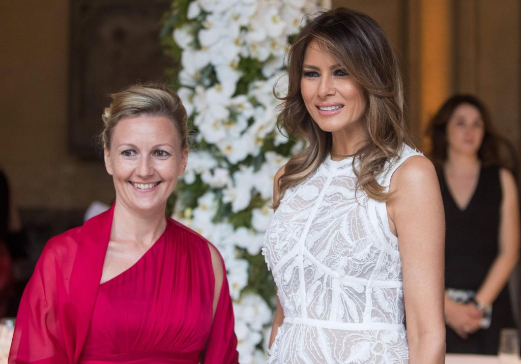 FOTO:Poseben program za Melanio Trump