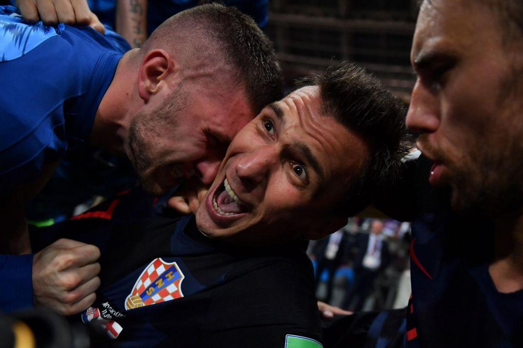 FOTO:Ne le hrvaški nogometaši, trenutke slave je požel tudi fotograf
