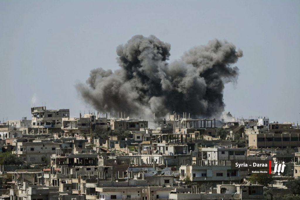 FOTO:Vladne sile vstopile v mesto Dara, simbol upora (FOTO)