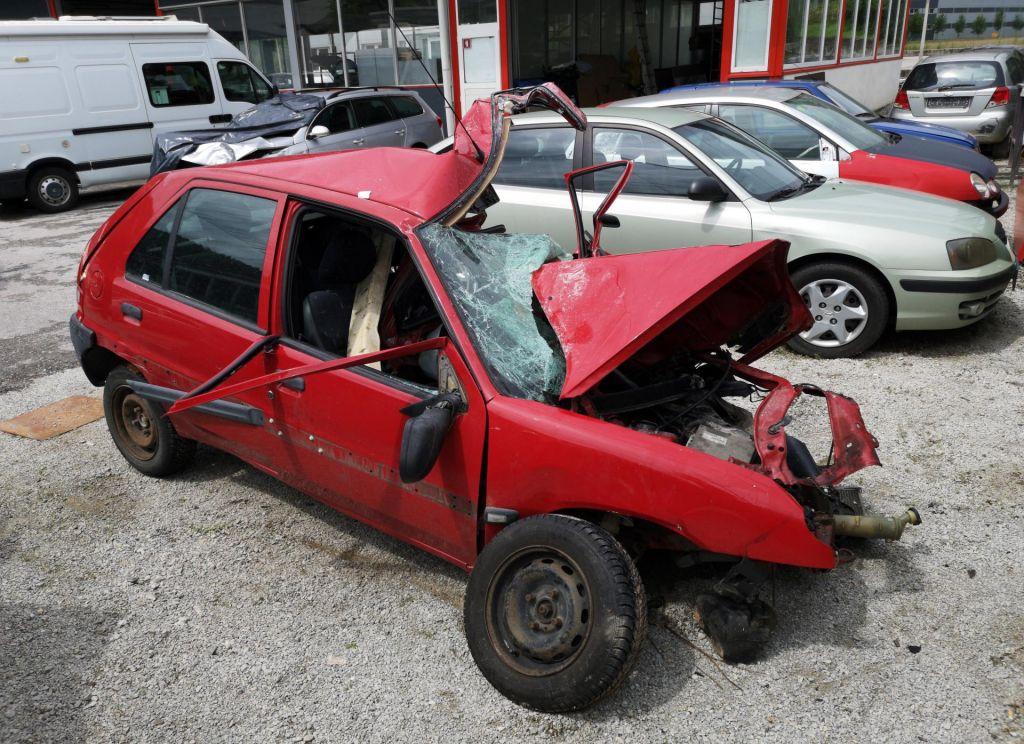 FOTO:Novi smrtni žrtvi slovenskih cest