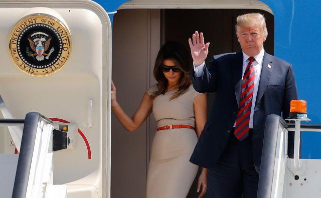 Če odmislimo Trumpov slog, imajo njegovi očitki vendarle nekaj smisla. FOTO: AFP