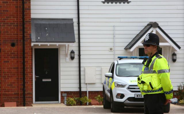 Pred štirimi meseci sta se v Salisburyju zastrupila nekdanji ruski vohun Sergej Skripal in njegova hči Julija Skripal. FOTO: Geoff Caddick/AFP