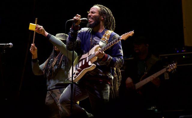 Ziggy Marley je večkrat nagrajeni zvezdnik. Foto Stipe Surać/Overjam Reggae